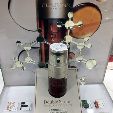 Molecular Structure of Cosmetics Serum Revealed