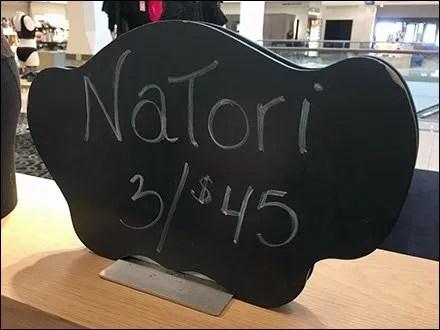 Natori Chalk Board Branding Logo