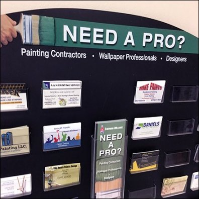 Need A Pro Business Card Wall Rack