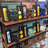 Paint Definition Endcap Display by Sherwin Williams Feature