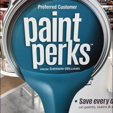 Paint Perks Freestanding Display Promotion 1
