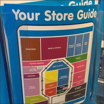 Please Take A Store Guide With You