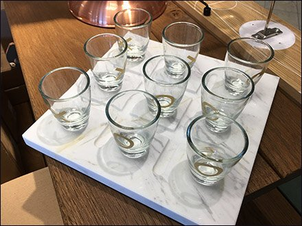 Shot Glass Tic Tac Toe Drinking Game