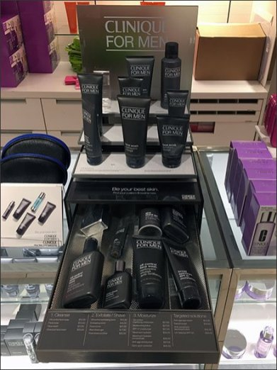 Pull-Out Drawer for Clinique For Men