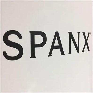Spanx Logo Departmental Branding