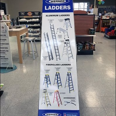 Step Ladder Promotional Sleeve By Werner