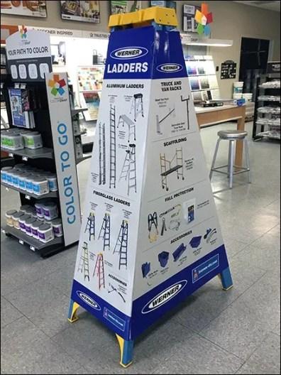 Step Ladder Promotional Sleeve By Werner