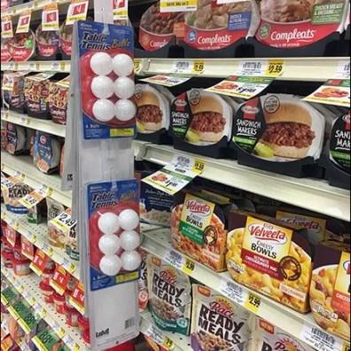 Table Tennis Ball Strip Merchandiser Sales
