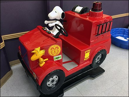 Woodstock and Snoopy Fight Fires Babies R Us