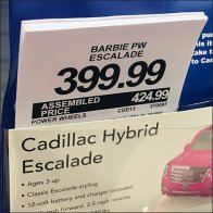 Cadillac Escalade Shopping by Pick Card