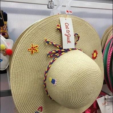 Cat & Jack Summer Hat Hook Merchandising