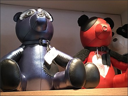 Coach Leatherwork Teddy Bears