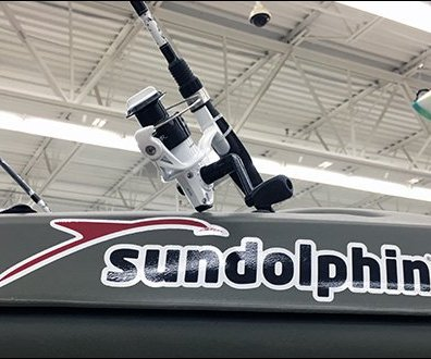 Fishing Kayak Flyover In Sporting Goods