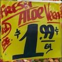 Fresh Aloe Vera Cascade Only $1.99 Each