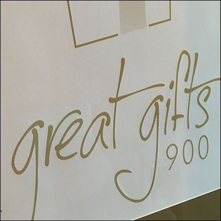 Great Gifts 900 Retail Fixtures - Great Gifts 900 Framed Branding