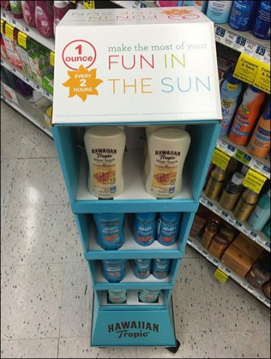 Summer Suscreen Mobile Tower by Hawaiian Tropic