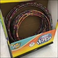 Hula Hoop Tiered Display For Half-Pallet