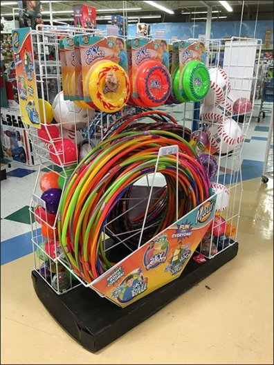 Hula Hoop Island Display And More