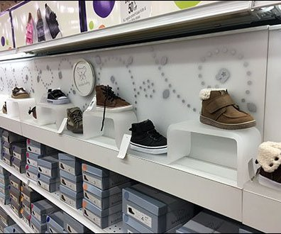 Serpentine Acrylic Risers for Koala Children's Shoes