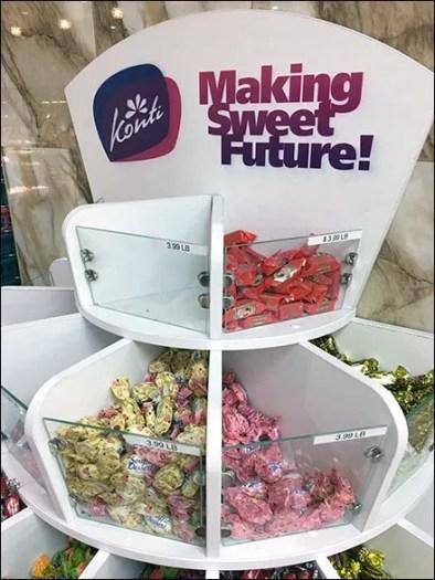 International Foods Ukrainian Candy Display