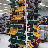 Do-It-Yourself PVC Tower for Clothes Hangers