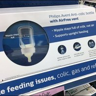 Philips Avent Baby Bottle AirFree Vent Demo