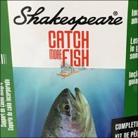 Shakespeare Catch More Fishing Pole Displayer Feature