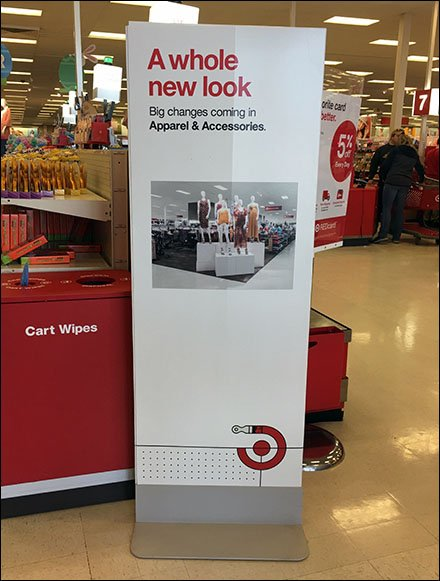 Target Whole New Look Storewide Signage