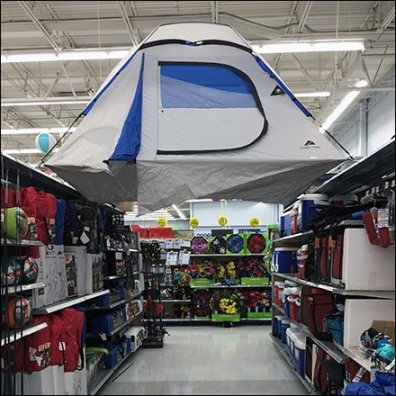 Tree-Top Camping Tent Aisle Flyover Square2