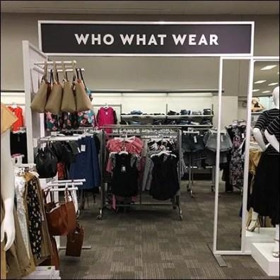 Who What Wear Overhead Apparel Gateway