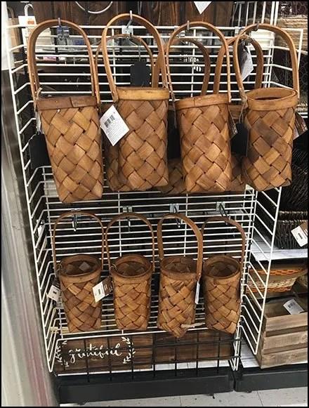 Birch Basket PowerWing Merchandising
