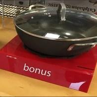 Calphalon Cookware Red Pedestal Bonus