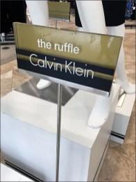Calvin Klein Pinstriped Pedestals 1