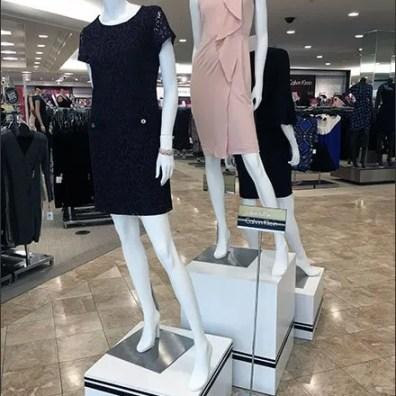 Calvin Klein Pinstriped Pedestals 3