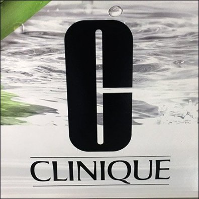 Clinique Bell Jar Display Finishing Touch Logo