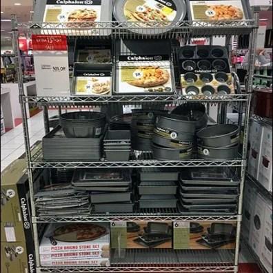 Declined Open Wire Shelves for Calphalon Bakeware 3