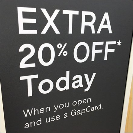 Extra 20% )ff Gift Card Tower Sqaure1