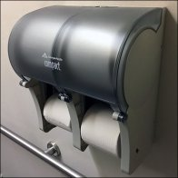 Georgia-Pacific Quadraphonic Toilet Paper Holder Feature