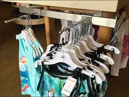 Gymboree Under-Shelf Bar Merchandiser
