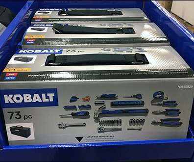 Kobalt Tool Kit Offers Tool Bag Adjacency
