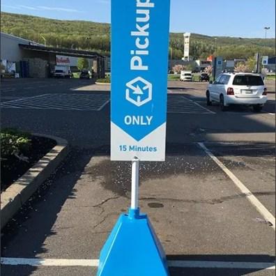 Lowes Online Pickup 15 Minute Parking 2