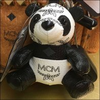 MCM Teddy Bear Purse Charm Accent