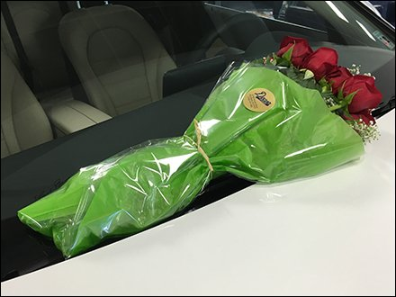 Free Bouquet With Every Mercedes Benz Purchase