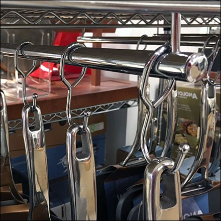 Macys Cookware Cart Hangrod Outfitting