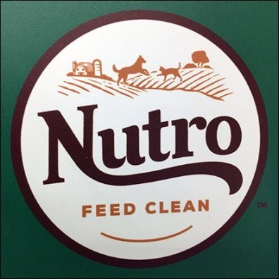 Nutro Feed Clean Shelf Edge New Flag