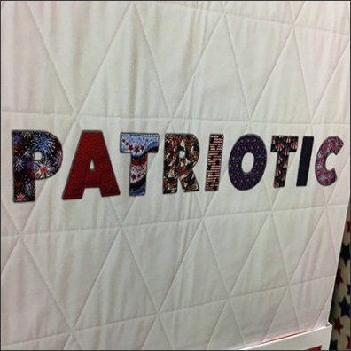 Patriotic Fabric Siging Feature