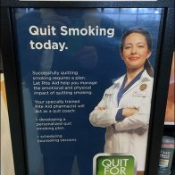 Sanitary Wipes Pitch Quit Smoking Advertising