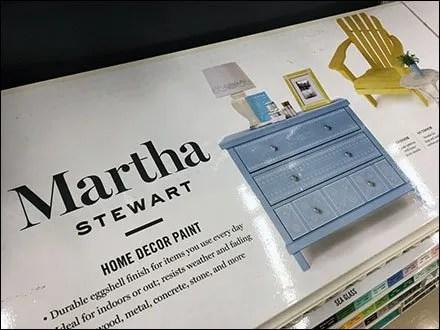 Martha Stewart Spray Paint Inline Display