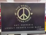 The Beatles Junk Food Apparel Rack
