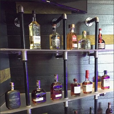 Viva Farms Do-It-Yourself Pipe Shelving Feature